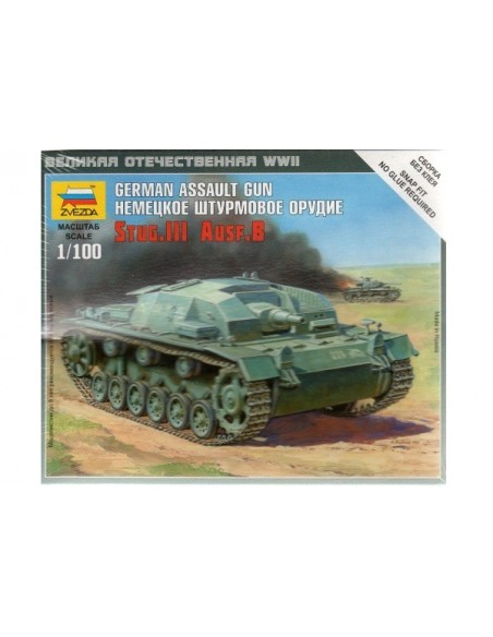 1/100 Stug III G - Capsa d'1