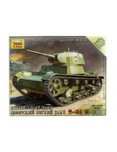 T-26 M Light Tank - 1/100 scale