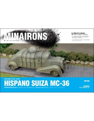 1/56 Hispano Suiza MC-36 - Boxed kit