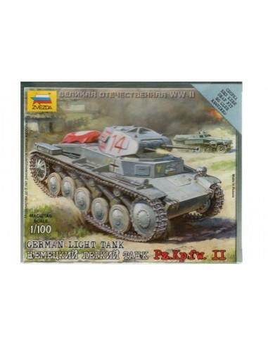 Panzer II - escala 1/100
