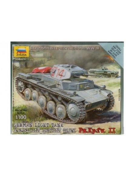 Panzer II Light Tank - 1/100 scale