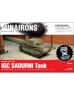 1/72 IGC Sadurní tank - Boxed kit