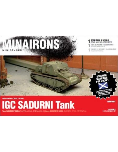 1/72 Tanc IGC Sadurní - Capsa d'1