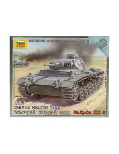 Panzer III Ausf. G - 1/100 scale