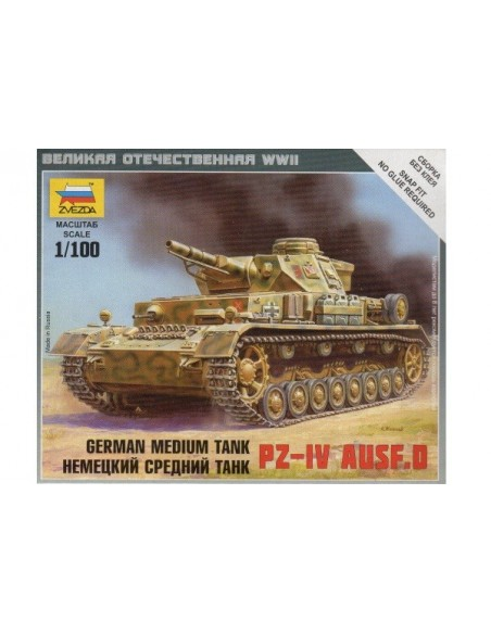 Panzer IV Ausf. D - 1/100 scale