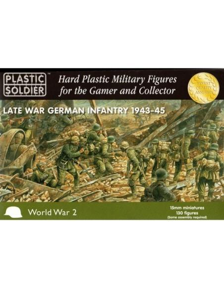 German Infantry - Late War - 1/100 scale