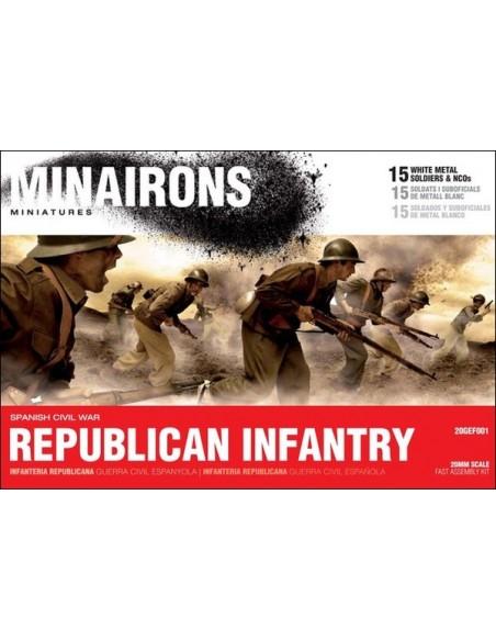20mm Republican Infantry
