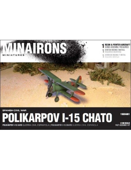 1/144 Caça Polikàrpov I-15