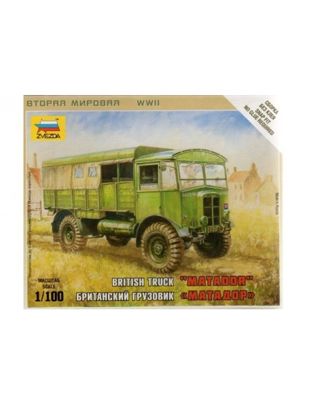 1/100 Matador truck - Boxed kit
