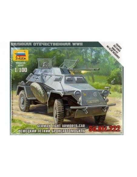 1/100 SdKfz 222 - Capsa d'1