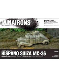 1/100 Hispano Suiza MC-36 - Caja de 1