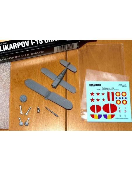 1/100 Caça Polikàrpov I-15