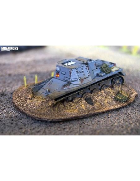 1/72 tanc abandonat o destruït