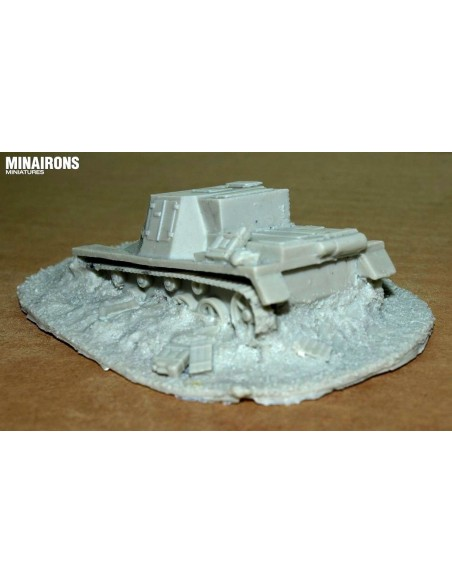 1/72 Bailed out tank