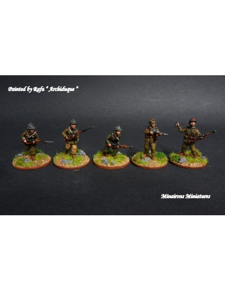 20mm Infantería republicana