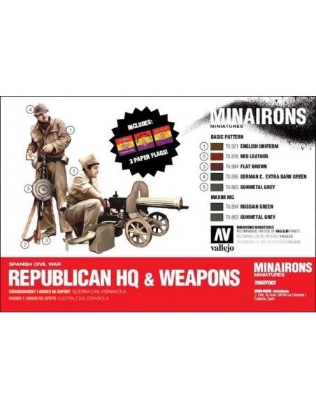20mm Mando y armas republicanas