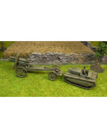 1/72 Tractor Sadurní y obús - Caja de 1