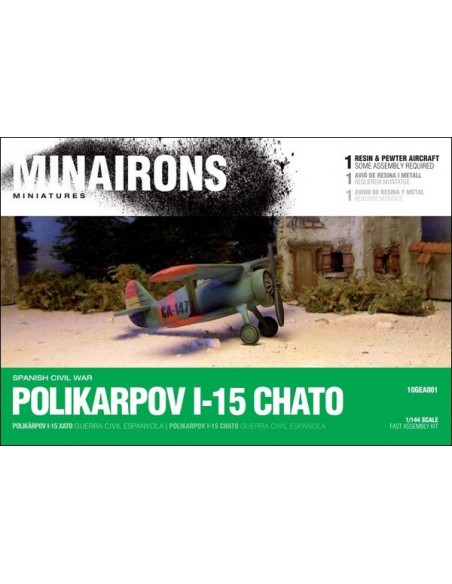 1/144 Polikarpov I-15 Fighter