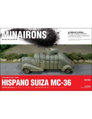 1/72 Hispano Suiza MC-36 - Boxed set