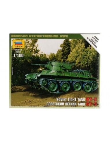 1/100 BT-5 Tank - Boxed kit