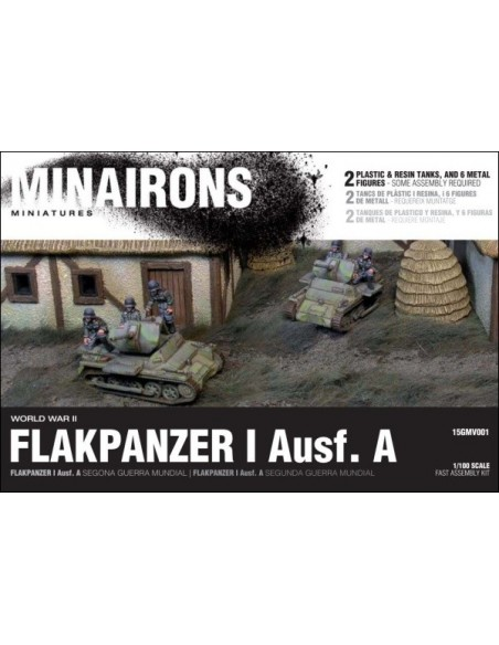 1/100 Flakpanzer I ausf. A - Boxed set