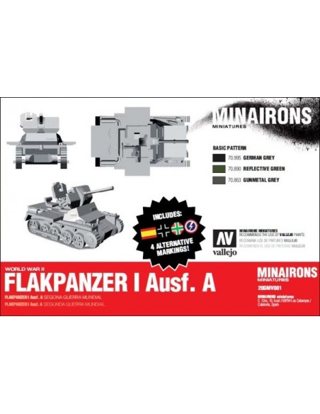 1/72 Flakpanzer I ausf. A - Boxed kit