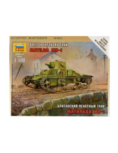 1/100 Matilda I Tank - Boxed kit