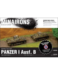 1/100 Panzer I ausf. B - Boxed set