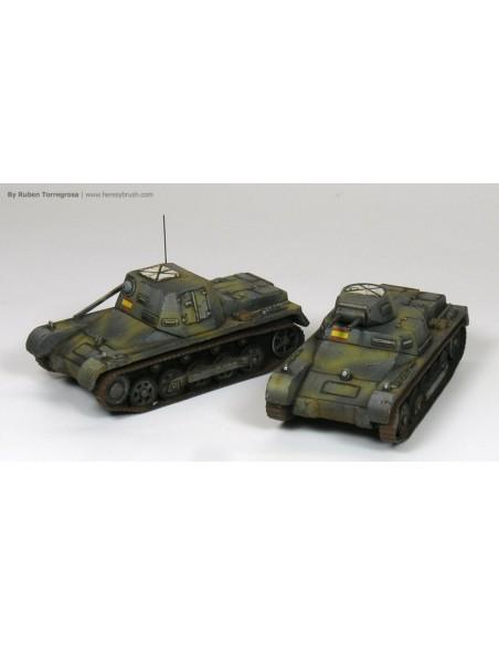 1/100 Panzer I ausf. B - Capsa de 2
