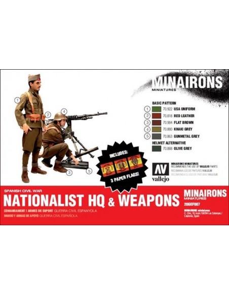 """20mm Mando y armas """"nacionales"""""""