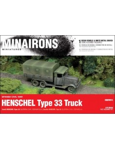 1/72 Henschel Type 33 truck - Boxed kit