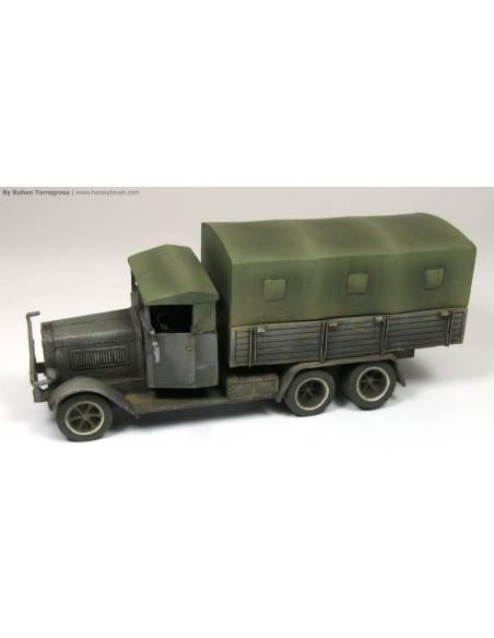 1/72 camió Henschel Tipus 33 - Capsa d'1