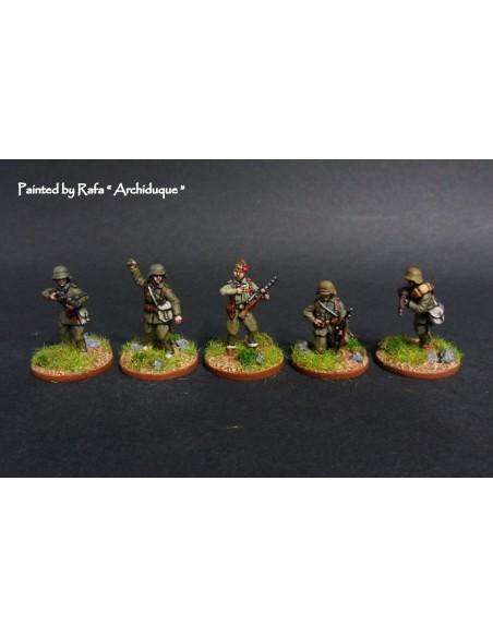 20mm Infanteria franquista