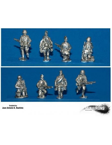 20mm Nationalist HQ & Weapons