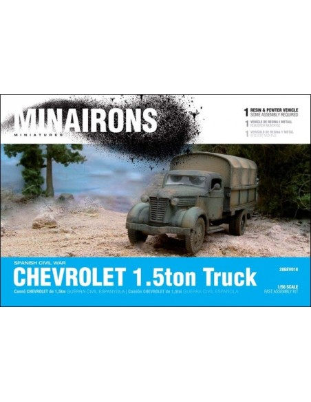 1/56 Chevrolet 1.5ton truck - Boxed kit