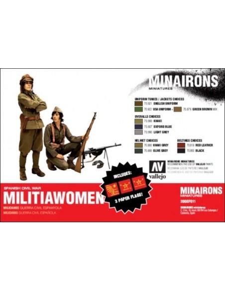 20mm Militiawomen