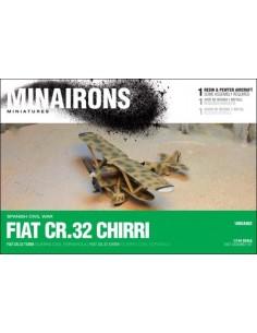 1/144 Caça Fiat CR.32 - Capsa d'1