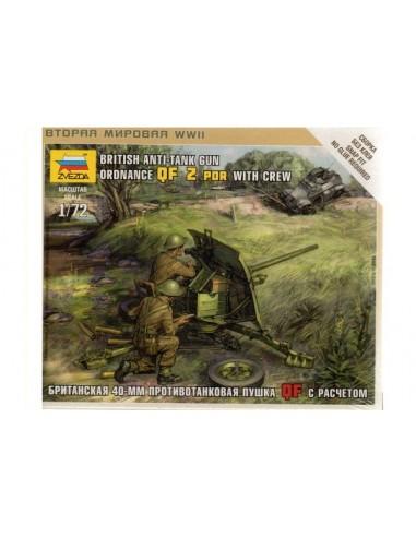 1/72 British QF 2pdr AT gun