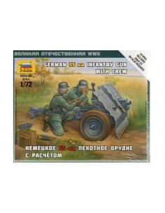 1/72 Canó d'acompanyament alemany de 75mm