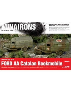 1/72 Bibliobús Ford AA - Caja de 1