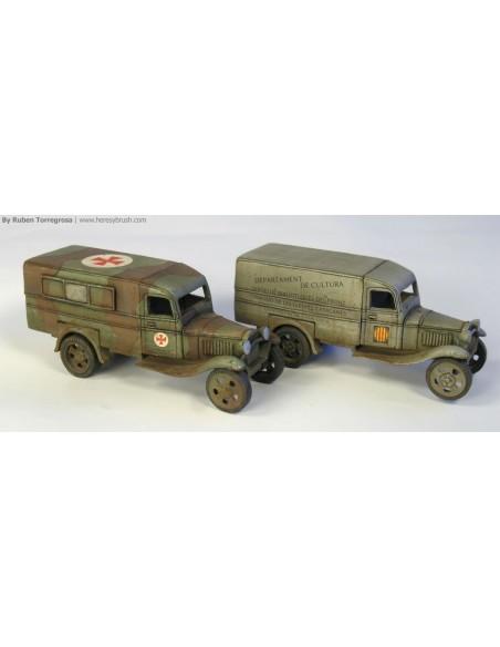 1/72 Bibliobús Ford AA - Capsa d'1