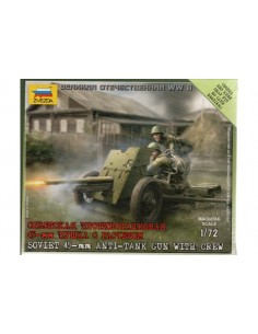 Russian 45mm AA gun - 1/72 scale