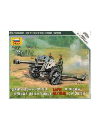 1/72 Obús alemany LeFH 18/18M