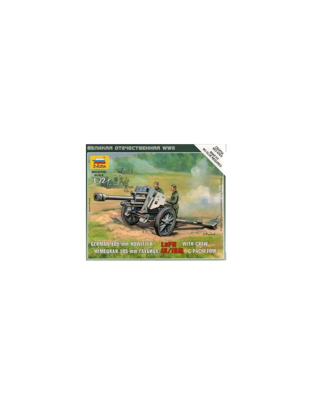 Zvezda German Howitzer LeFH 18-1:72