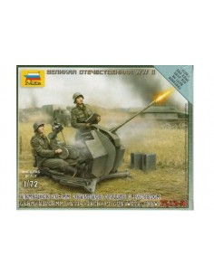 German Anti-aircraft gun - 1/72 scale