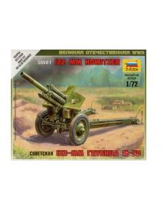 1/72 Obús soviètic de 122 mm