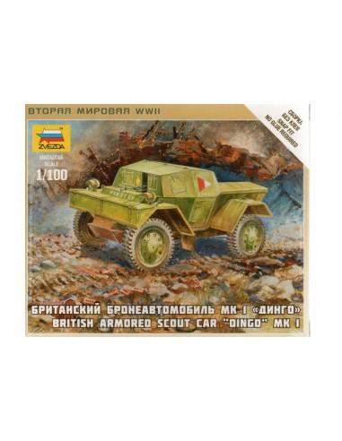 1/100 Blindado Dingo Mk.I - Caja de 1