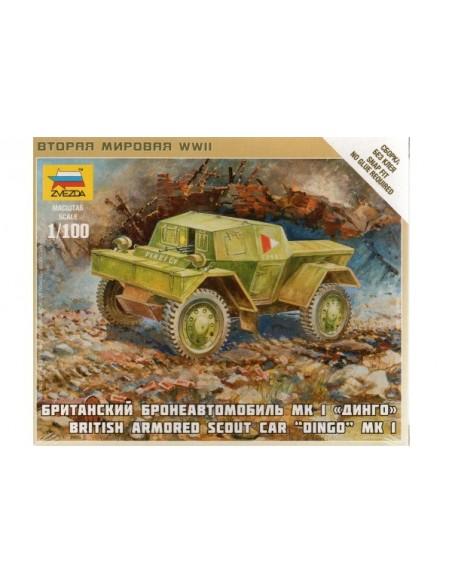 1/100 Dingo Mk.I Armoured Car - Boxed kit
