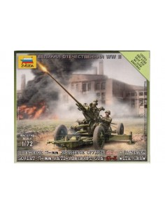 Russian Anti-aircraft gun - 1/72 scale