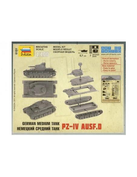 1/100 Panzer IV D - Capsa d'1